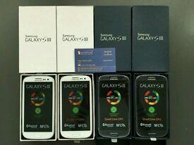 Samsung galaxy S3 UK model unlocked brand new pristine condition warranty with receipt
