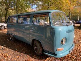 Classic VW campervan 1972 full mot