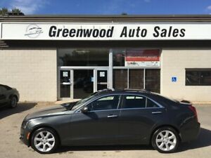 2015 Cadillac ATS 2.0L Turbo - Leather, AWD, SunRoof, Backup Cam
