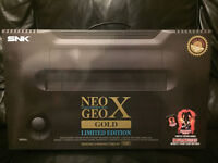 Neo Geo X Gold - Limited Edition - boxed complete - 21 games to play included