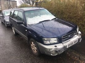 55 Subaru Forester 2.0x hi and low
