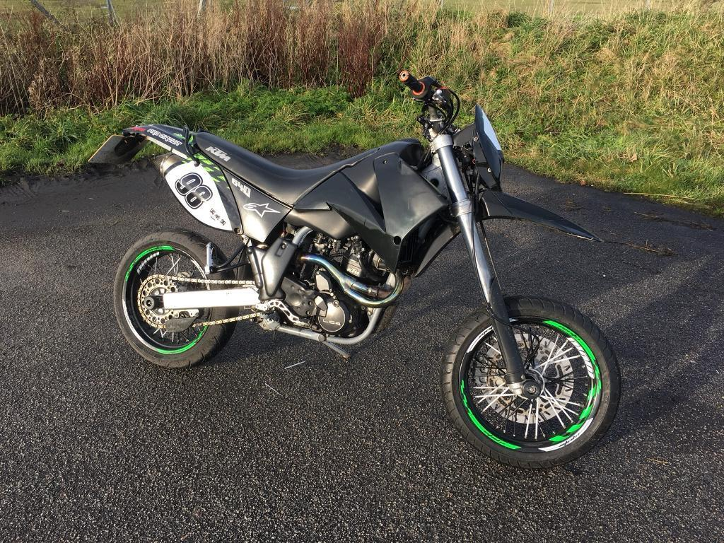 ktm 640 lc4 supermoto akrapovic exhaust in aberdeen. Black Bedroom Furniture Sets. Home Design Ideas