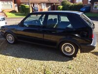 Golf mk2 gti 8v 3door 1991 black low miles