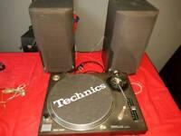 TECHNICS 1210 MK 2 PLUS SPEAKERS