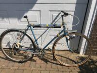 Vintage Viking gents bike 22inch frame 10 speed lever shift gears