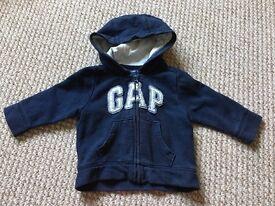 GAP Baby Logo Hoodie, 6-12 Months