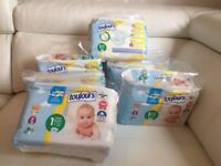 6 pack new born baby nappies size 1(4-11 kg)