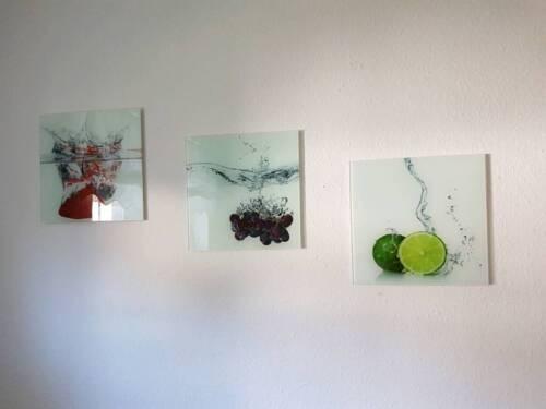 Glasbilder Bilder für die Küche - nur noch 2 da in Niedersachsen ...