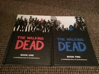 The Walking Dead hardback books 1 & 2