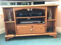 Corner TV Unit Solid Pine