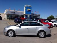 2011 Chevrolet Cruze LT TURBO, 1.4L, XM RADIO, LOCAL TRADE!