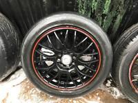 "Multi stud 15"" alloy wheels corsa"