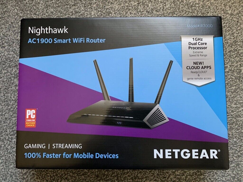 NETGEAR Nighthawk R7000 AC1900 1300 Mbps Wireless AC Router | in Great  Sutton, Cheshire | Gumtree