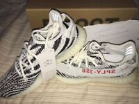 Authentic Adidas Yeezy Boost 350 Zebra Size UK 8 / EU 42