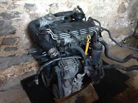 VAG 1.9TDi Engine and Turbo BXE code Leon Golf Skoda LOW MILES 74K