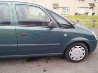 Spares or repair Vauxhall Meriva ,engine emissions issue