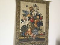 Handfinished Woven Flemish Tapestry