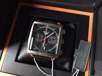 New Swiss Tag Heuer Monaco Chronograph Watch