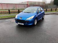 2006 (06) Peugeot 307 1.4 Petrol Manual 5 door Full Mot Only 64000 Miles Looks Runs & Drives Great