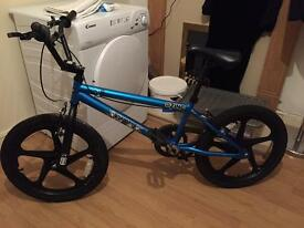 Zinc Backbone BMX Bike