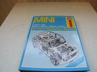 Haynes manual for the original mini