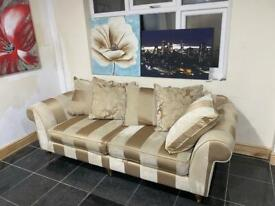 Large size 3 seater Fabric sofa