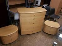 Creations chest and matching lockers