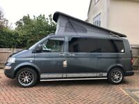 VW T5, 2.5L, LWB, AIRCON, full camper conversion done in 2017, real leather, high spec!