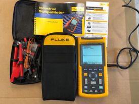 Fluke 123 industrial scope meter