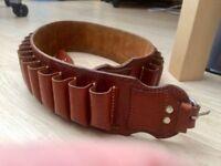 12 Bore Shotgun Cartridge Belt