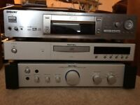High-end Stereo System (includes Rotel amp and CD player, Kef speakers, Sony DVD player