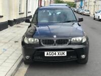 BMW X3 SPORT 2.5 i Petrol 6 SPEED MANUAL 4x4 SUV NEW MOT SPARES OR REPAIR £1000 ONO