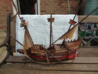 Model Ship - requires plenty of attention