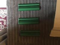 Green Victorian Border Dado Tiles