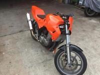 Cb500 track bike