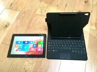 Lenovo ThinkPad 10 Tablet 2 in 1 Laptop, 10.1 inch: 64GB SSD, 2GB RAM, Intel CPU Quad Core, TouchPad