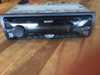Sony car radio USB and aux player