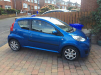 2012 PEUGEOT 107, ONLY 29k MILES, ONE OWNER, PERFECT FIRST CAR, JUST MOTed, £20 TAX.