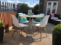 Patio / Bistro Set - Rattan - Garden / Outdoor Furniture - Dining Table