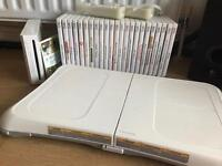 Nintendo Wii plus games and Wii Fit
