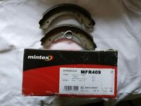 New Citroen Berlingo Genuine Mintex Rear Brake Shoe Set - one side only - MFR409