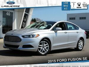 2015 Ford Fusion SE**CAMERA*BLUETOOTH*A/C*GR. ÉLECTRIQUE**