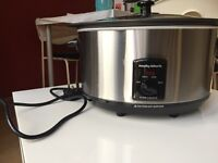 Murphy Richards Slow cooker 6.5Litres. Pack opened but not used.New Condition.Selling due to reloc.