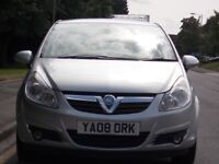 VAUXHALL CORSA 1.2 PETROL LOW MILEAGE 53,000 ONLY NEW 12 MONTH M.O.T CHEAP INSURANCE
