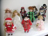 Porcelain Leonardo dolls