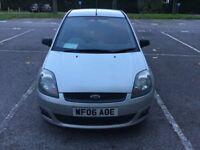 Ford fiesta 06 silver DIESEL 5door 79500 miles - £1800