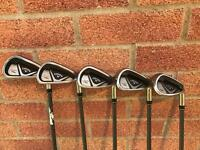 Callaway X 2 Hot irons - 6,7,8,9,PW golf set