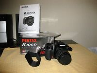Pentax K100D 6.1MP DSLR camera with 18-22mm lens kit – Immaculate condition