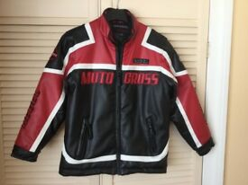 Motorcycle Jacket Children's age 9-10 Yrs.