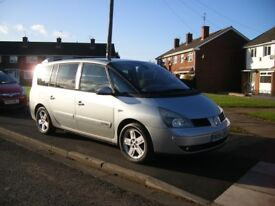 2004 Renault Grand Espace Privlege DCI, 2.2 ltr Diesel, Auto, 7 Seater MPV